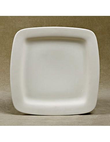 Piatto Quadrato cm 25