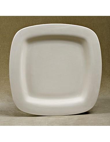 Piatto quadrato cm 40