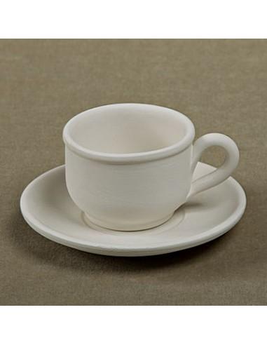 Tzzina caffè c/piattino