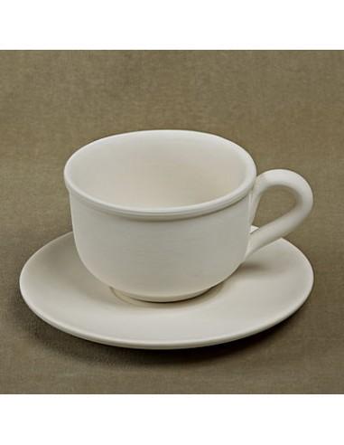 Tazza latte c/piatto