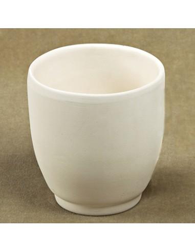 Mug bombato senza manico