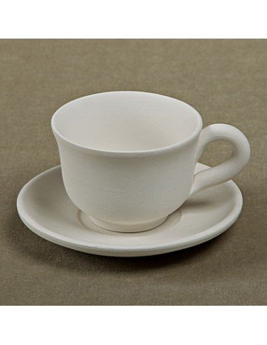 Tazzina caffè svasata c/piattino