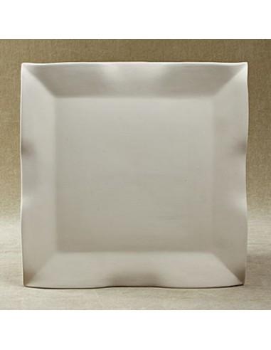 Vassoio quadrato ondulato
