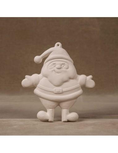 Babbo Natale 3D Decorazione