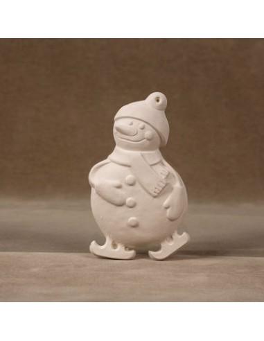 Pupazzo di neve 3D Decorazione