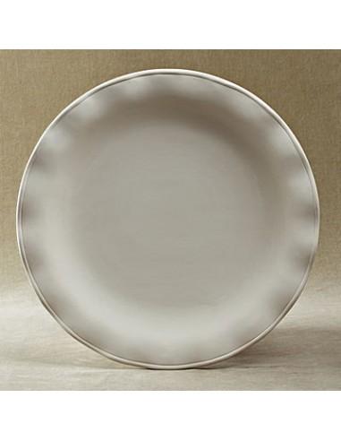 Ruffled Round Platter